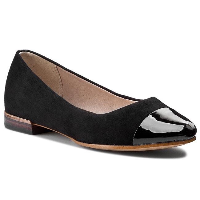 Womens Shoes Clarks Festival Gold Black Combi