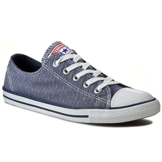 3b21459d358b85 Sneakers CONVERSE - CT Dainty Ox 547310C Navy - Plimsolls - Sports ...