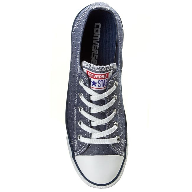 ffc438d835db5c Sneakers CONVERSE - CT Dainty Ox 547310C Navy - Plimsolls - Sports shoes -  Women s shoes - www.efootwear.eu
