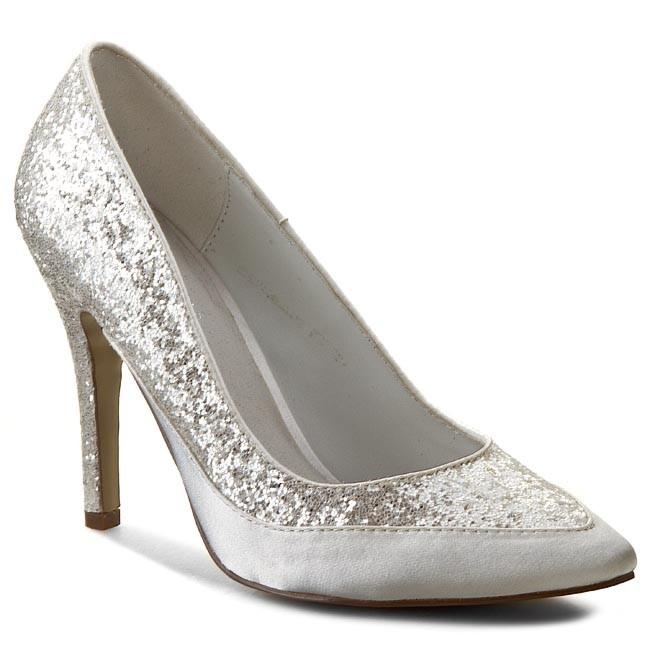 868208505 Stilettos MENBUR - PACOMENA 005900 Ivory 004 - Heels - Low shoes ...