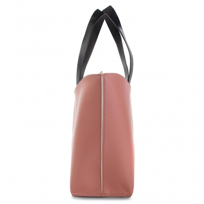 196cef71518a4 Handbag POLLINI - SC4530PP06SG160A Bianco Calf Ner - Canvas Totes ...