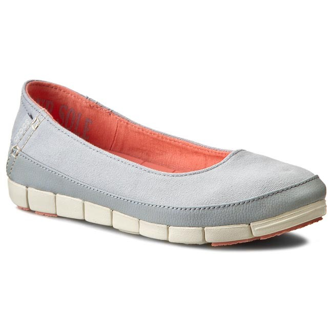 Shoes CROCS - Stretch Sole Flat W 15317 Light Grey/Stucco