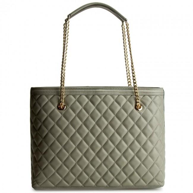 Handbag LOVE MOSCHINO - JC4012PP13LA0001 Grigio - Classic - Handbags -  www.efootwear.eu 43cbbaf94b1