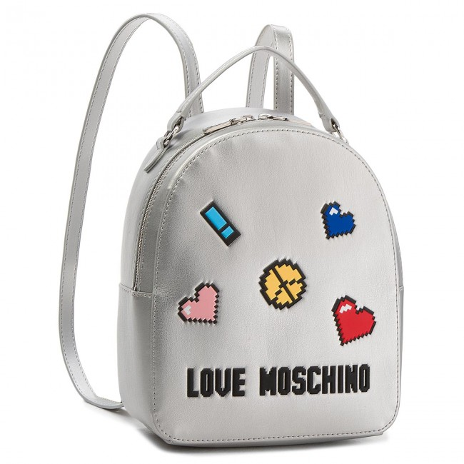 cd0652344c73 Backpack LOVE MOSCHINO - JC4070PP15LH0902 Argento - Backpacks ...