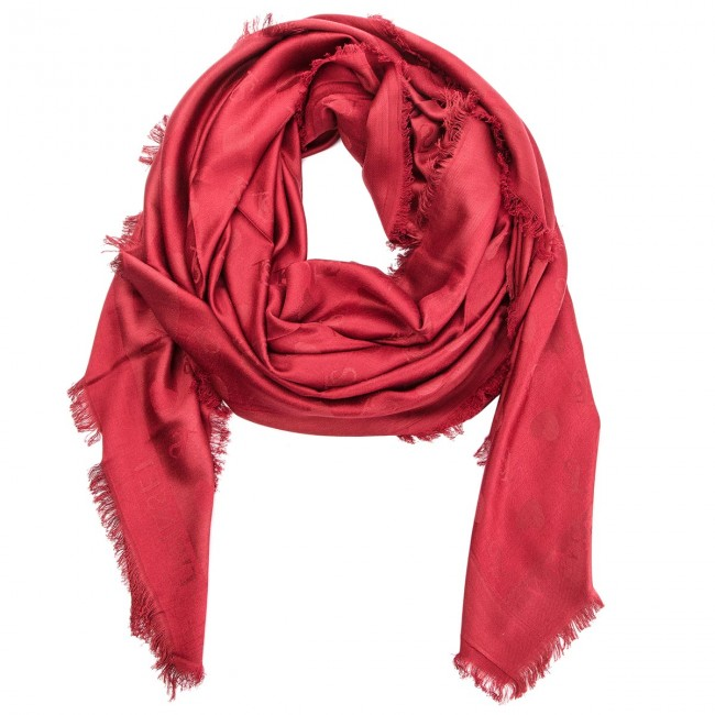 Head-scarf TWINSET - Kefia OA8T1Q Lampone Scuro 0097S - Scarves ... 92ec0cb2bfc
