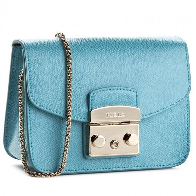 Handbag FURLA - Metropolis 869429 B BGZ7 ARE Turchese
