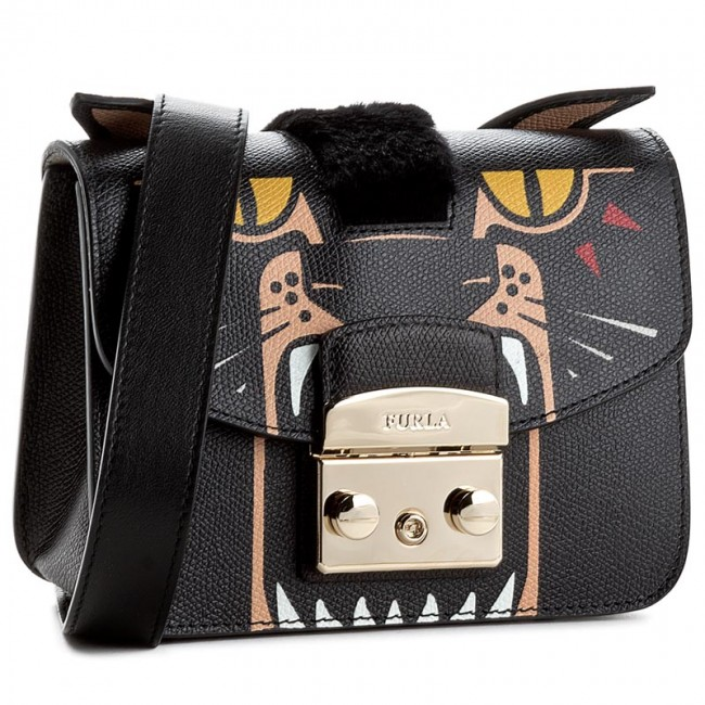 717abf5ac691 Handbag FURLA - Metropolis 881171 B BKK9 A27 Toni Onyx - Cross Body ...