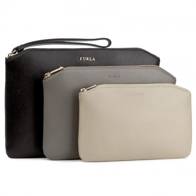 7507cc9ed206 Handbag FURLA - Venere 904603 E EL20 ARE Onyx/Argilla C/Creta ...