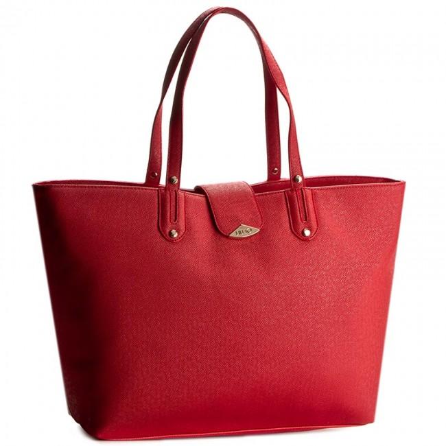 Handbag LIU JO - Shopping Kos A66128 E0087 Aurora Red 81550 ... ba11211c32a