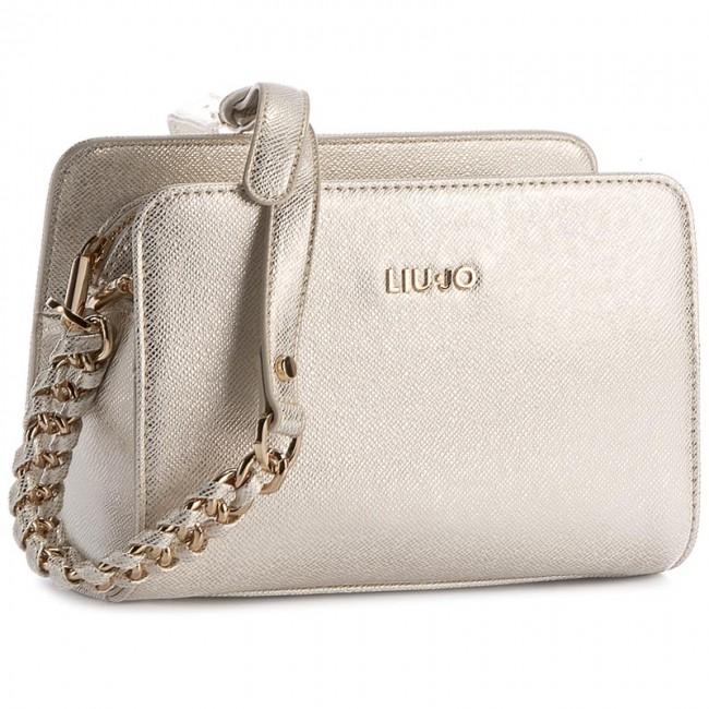 2951a6a2f921 Handbag LIU JO - Tracolla Xs Anna Cha A17006 E0087 Light Gold 90048 ...