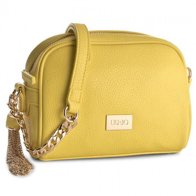 59c3b9dc22 Handbag LIU JO - Tracollina S Minorca N17074 E0086 Empire Yellow ...