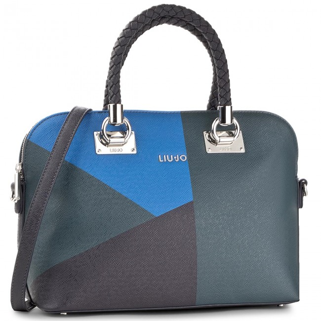 Handbag LIU JO - Shopping M Anna A67082 E0017 Deep Night W9503 ... b958abbea17