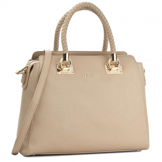 Handbag LIU JO - Shopping L Anna N67089 E0087 Biscuit 61320 ... 8eb25517b5b