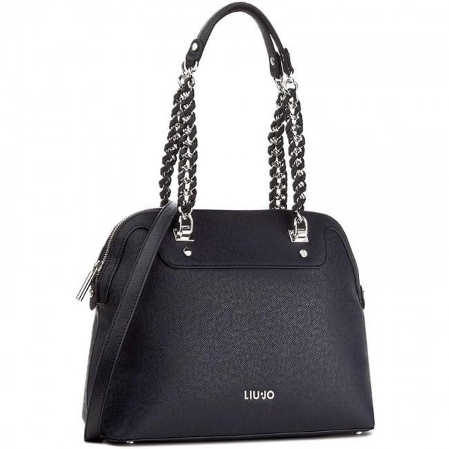 0b3fcee92d90b Handbag LIU JO - Shopping M Anna Chai A67001 E0087 Night Blu Sky ...