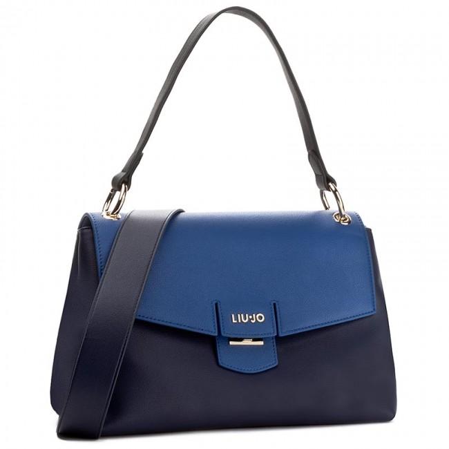 ... Handbag LIU JO - Cartella Grande Mar A67170 E0040 Night Blue Sky 93924 671ca13a031