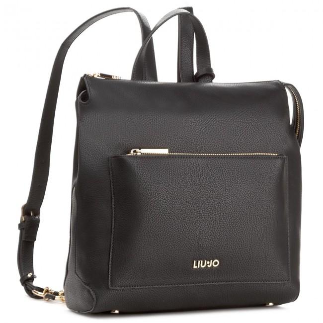 Backpack LIU JO - M Backpack Detroit A18006 E0027 Nero 22222