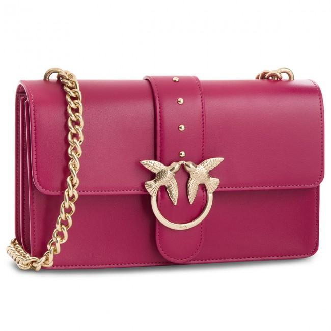 Handbag PINKO - Love Simply 5 Tracolla AL18-19 PLTT 1P216U Y4YM Fuchsia Y93 fad48336947