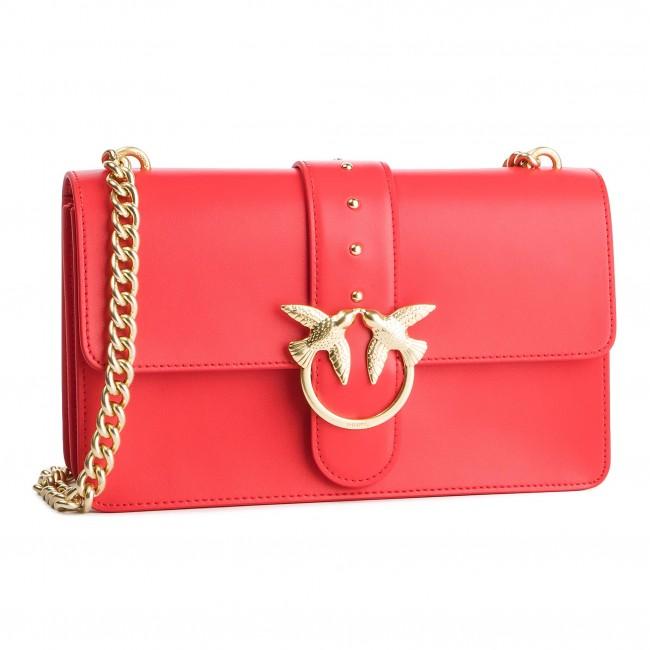 6bab1395aea70 Handbag PINKO - Love Simply 8 Tracolla PE 19 PLTT 1P21AY Y5EU Red ...