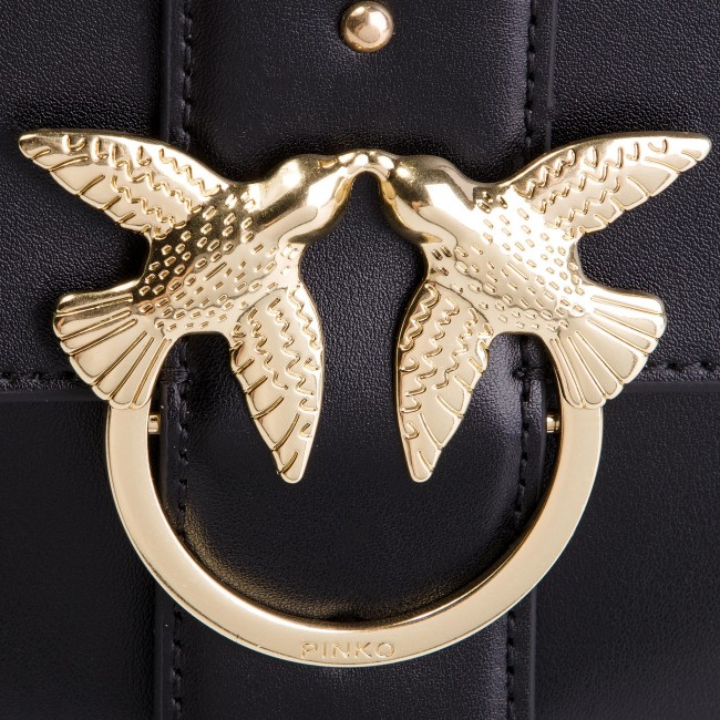 dec035550ea0b Handbag PINKO - Big Love Simply 1 Tracolla PE 19 PLTT 1P21B1 Y5EU Black Z99