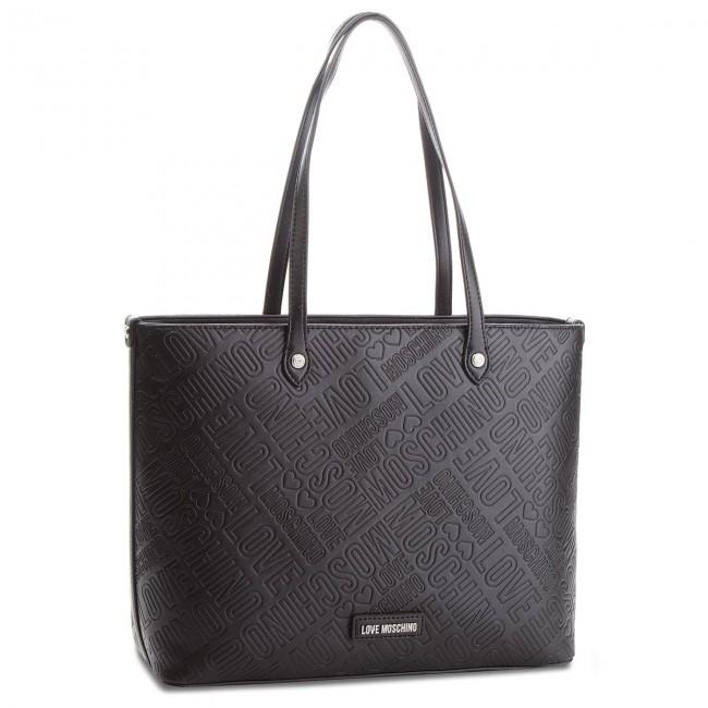 Handbag LOVE MOSCHINO - JC4029PP16LE0000 Nero - Canvas Totes ... 44a814cdce0