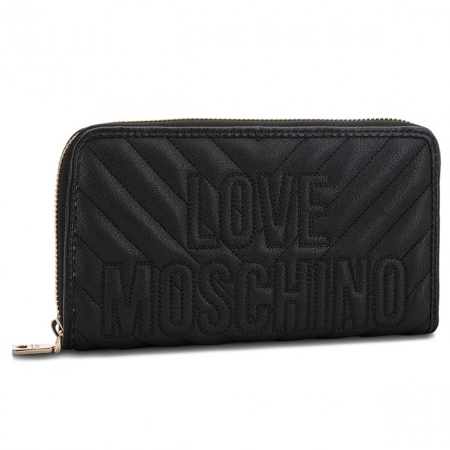 Large Women s Wallet LOVE MOSCHINO - JC5585PP06KI0000 Nero - Women s ... 9e095dbb2f5