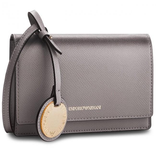 e869a94d4f34 Handbag EMPORIO ARMANI - Y3B086 YH15A 86539 Acciaio Nero - Cross ...
