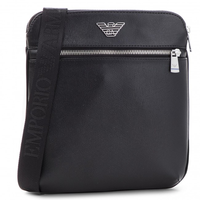 d5b723f64bb54 Messenger Bag EMPORIO ARMANI - Y4M185 YLA0E 81072 Black - Men's ...