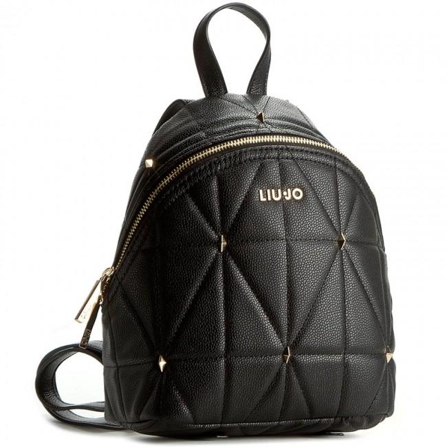 Backpack LIU JO - Zaino Ape N66051 E0058 Nero 22222 - Backpacks ... d47ace7a2fb