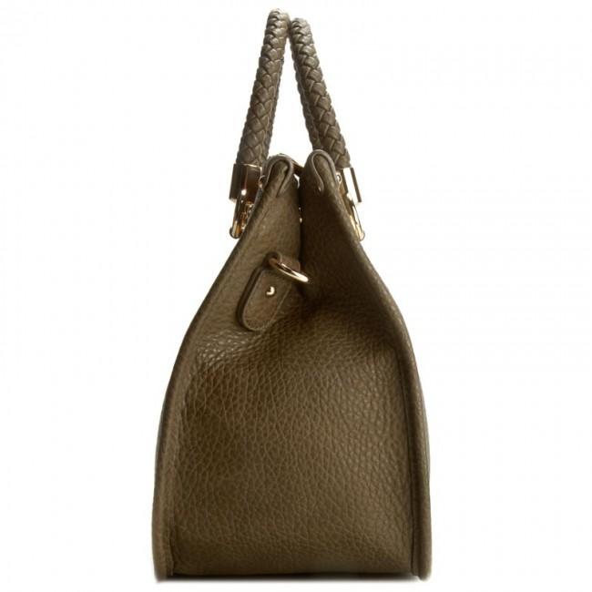 Handbag LIU JO Shopping M Quadrat N66085 E0011 Green Military 90622