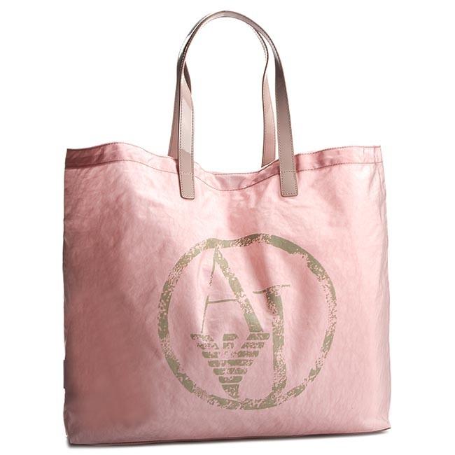 Handbag ARMANI JEANS - C522X U4 M4 Rosa Antico - Beach bags ...