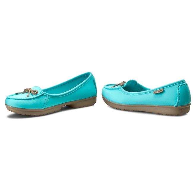 9f09b55c81ec97 Shoes CROCS - Wrap Colorlite Ballet Flat W 16209 Pool Tumbleweed ...