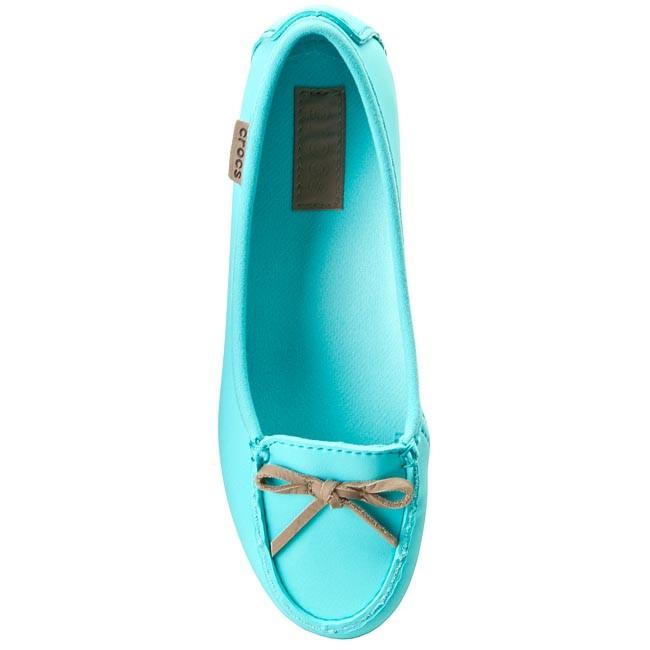 ab48ba9f3dc738 Shoes CROCS - Wrap Colorlite Ballet Flat W 16209 Pool Tumbleweed -  Moccasins - Low shoes - Women s shoes - www.efootwear.eu