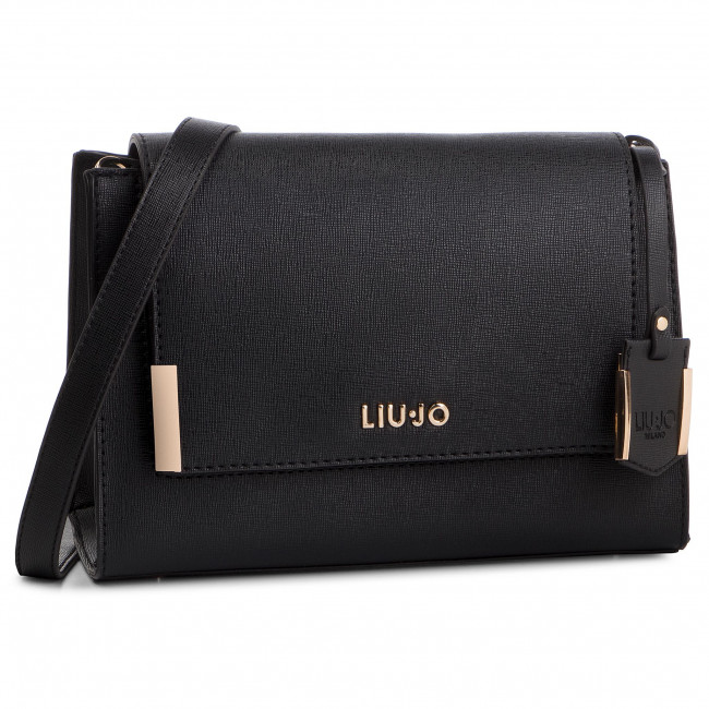 Handbag LIU JO - S Crossbody N19005 E0087 Nero 22222 - Cross Body ... 1298cf47cd2