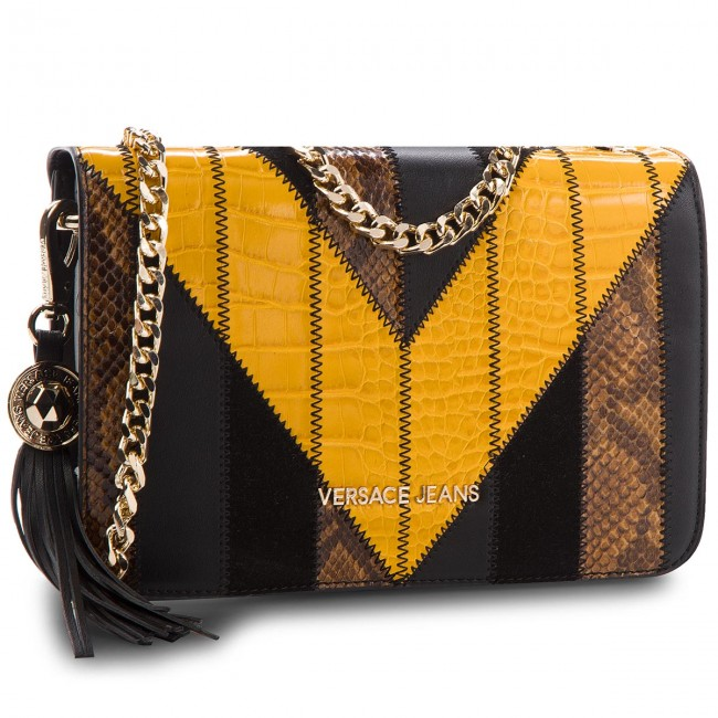 Jeans E1vsbbp1 70717 Versace Bags Handbag Patchwork Clutch 4wv5EEqx