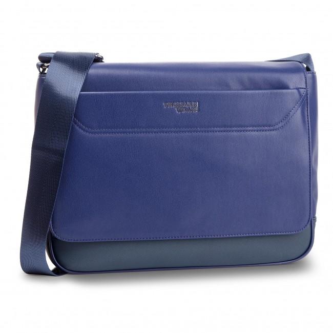 Laptop Bag TRUSSARDI JEANS - Business Affair Messanger 71B00114 Navy Bluette 925bb9be928