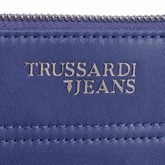 Messenger Bag TRUSSARDI JEANS - Business Affair Flat Cross Body 71B00117  Blue Navy Bluette 8d213cd75c9