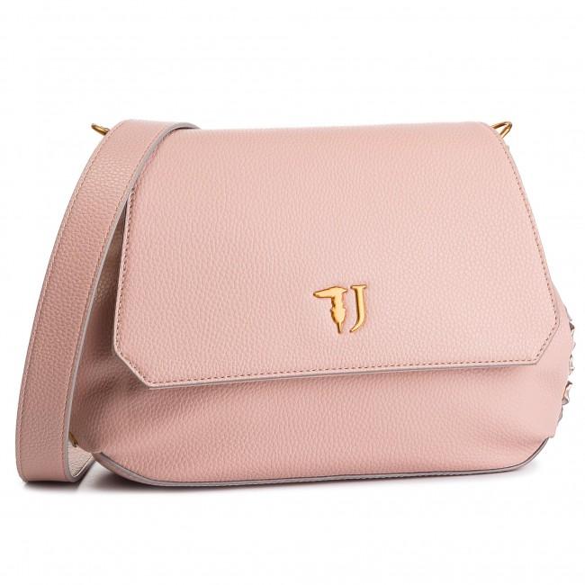 27b62418c4 Handbag TRUSSARDI JEANS - Lavanda Shoulder Bag 75B00450 P040 - Cross ...