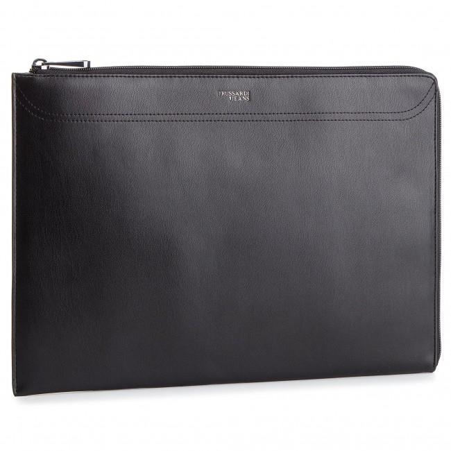 Messenger Bag TRUSSARDI JEANS - Business Affair Notebook Case 71W00063  9Y099999 Black Black 1f12784e31e