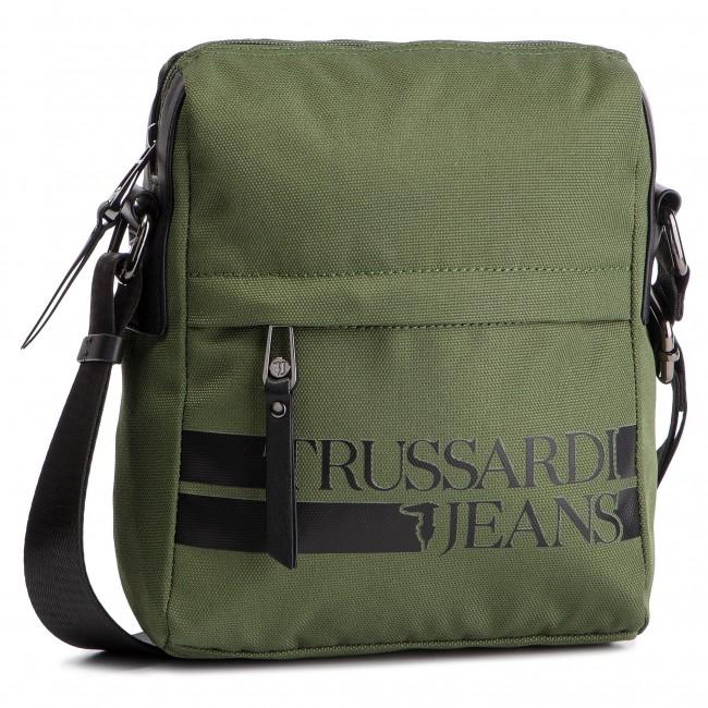 Messenger Bag TRUSSARDI JEANS - Turati Free 71B00142 Green Black ... 82a6f623978