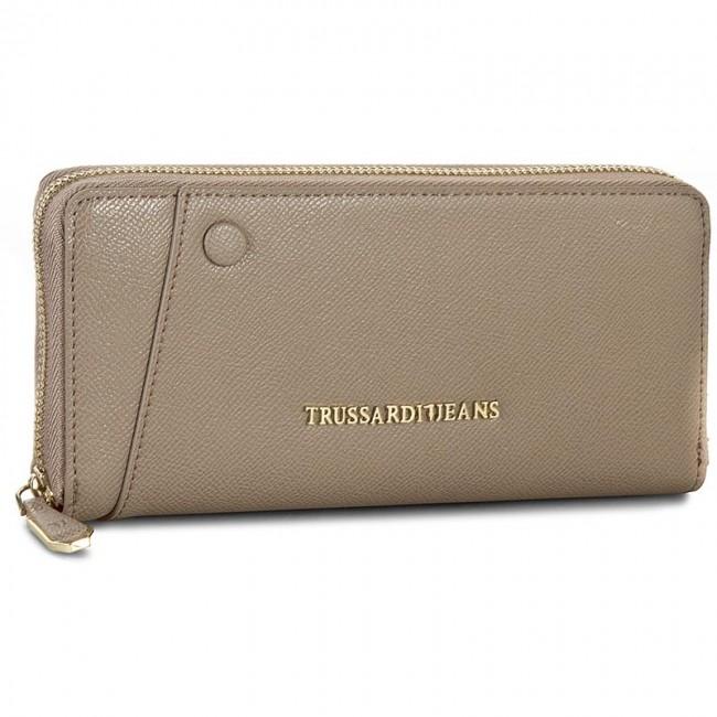 Wallet Zip Around stripes Trussardi iqH88x6ye
