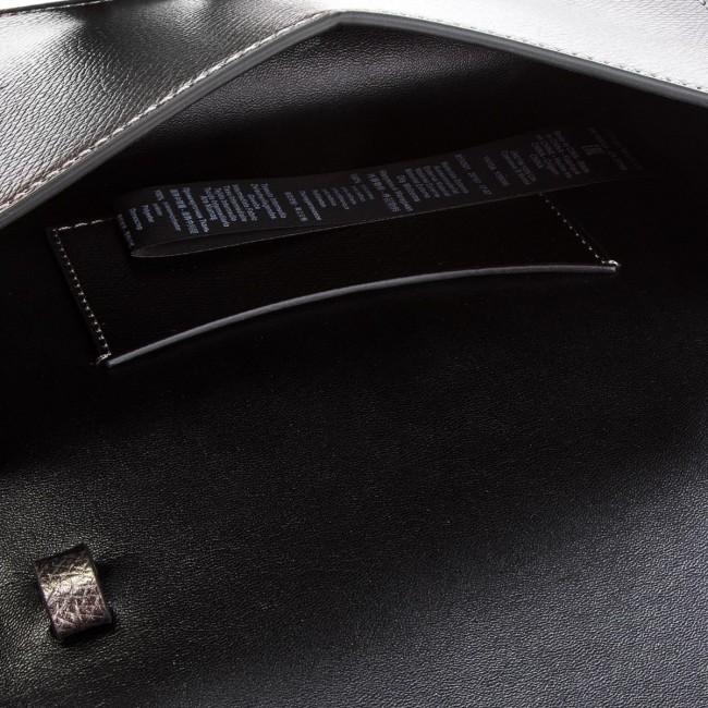 0b838da2a0ca Handbag EMPORIO ARMANI - Y3B086 YH15A 86539 Acciaio Nero - Cross Body Bags  - Handbags - www.efootwear.eu