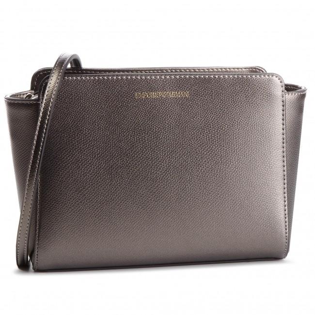 b37d1352e453 Handbag EMPORIO ARMANI - Y3B084 YH15A 86539 Acciaio Nero - Cross ...