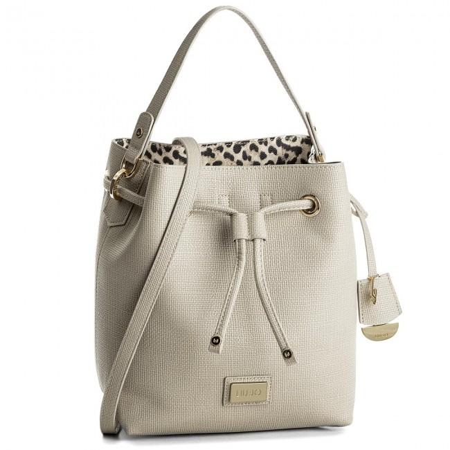 -grigio grey CIOTTOLO Handbag LIU JO - S Drawstring Hawaii N18148 E0513  Ciottolo 51306 b1f6122e815