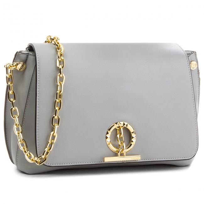 -grigio grey INOX Handbag LIU JO - M Cross Body Florida A18013 E0007 Inox  63915 6f25c3453a8