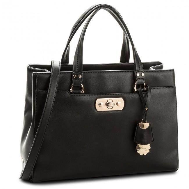 Handbag LIU JO - L Satchel Baltimora N18137 E0031 Nero 22222