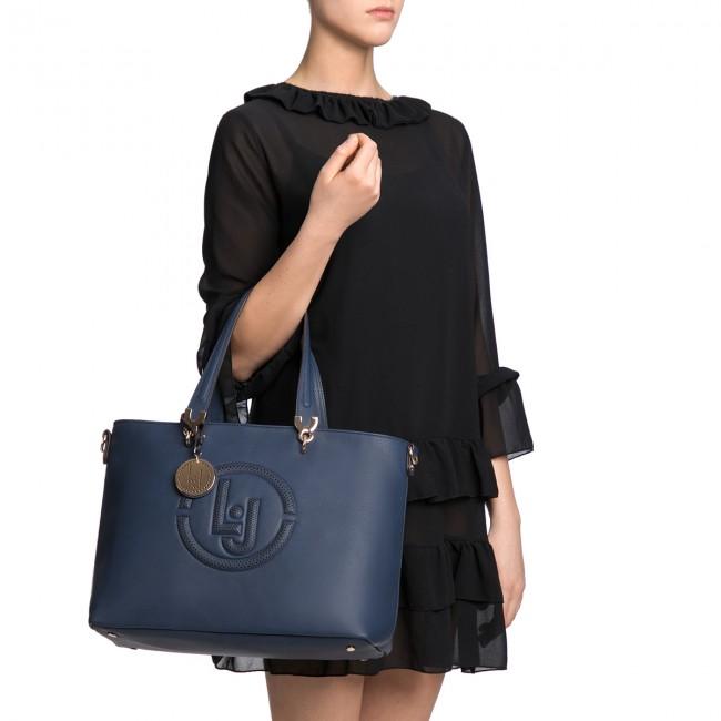 Handbag LIU JO - M E/W Tote Colorado N18212 E0037 Blu Marino 94028