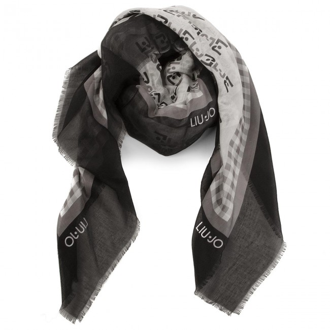 Head-scarf LIU JO - Foulard N18290 T0300 Nero 22222 - Scarves ... 2aa72a33d74