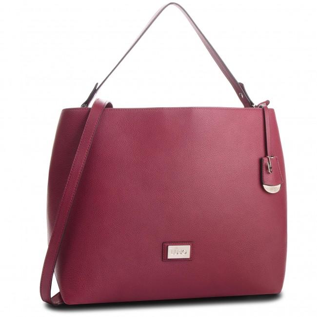 -rosso scuro DARK RED Handbag LIU JO - M Satchel Hawaii A68149 E0221 Dark  Red 91530 40939d2c95a