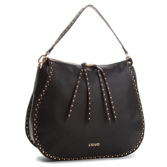 Handbag LIU JO - L Hobo Gioia A68051 E0033 Nero 22222 - Classic ... cc3ec73602d
