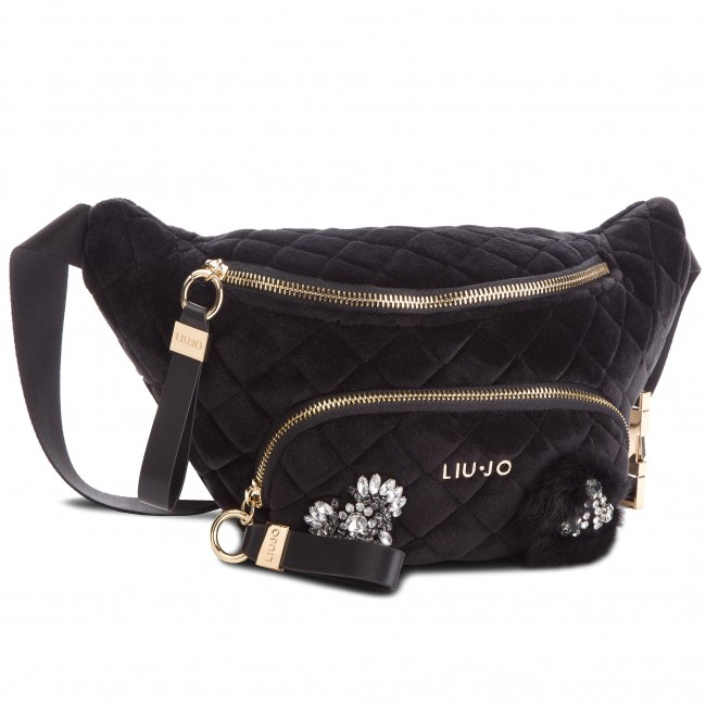 Waist Pack LIU JO - Bumpbag Brenta Vel N68063 T9093 Nero 22222 ... 86e8f48a78e